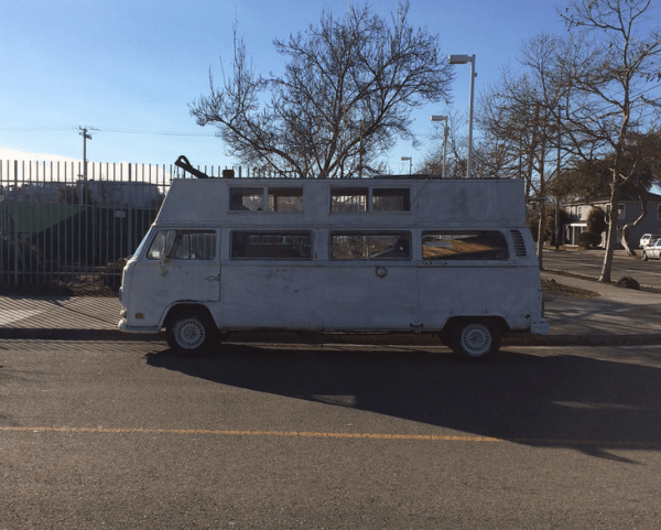 VW T2 extended side
