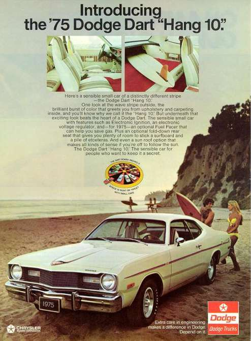 dodge dart hang 10