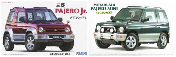 mitsubishi pajero junior mini