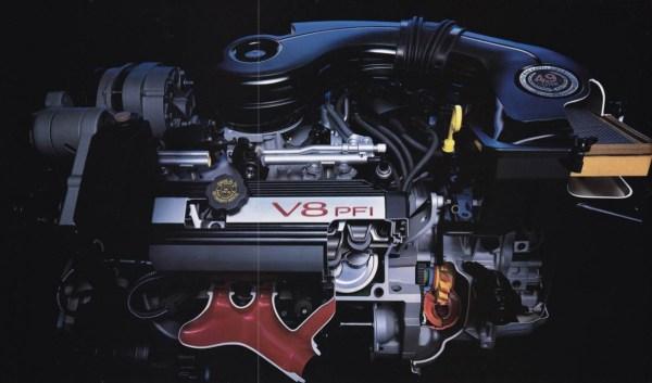 1991 Brochure Engine