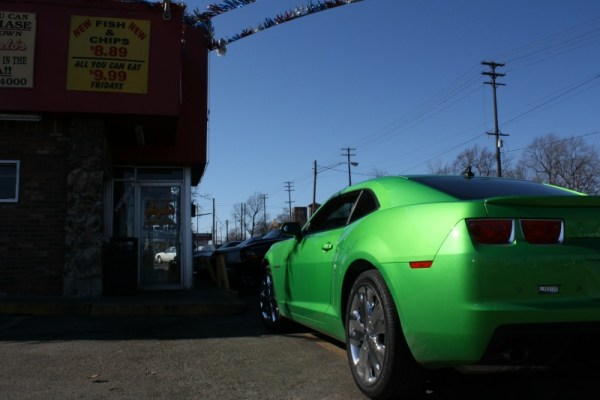 373 - 2009 Synergy Green Chevrolet Camaro, Angelo's Flint February 2011