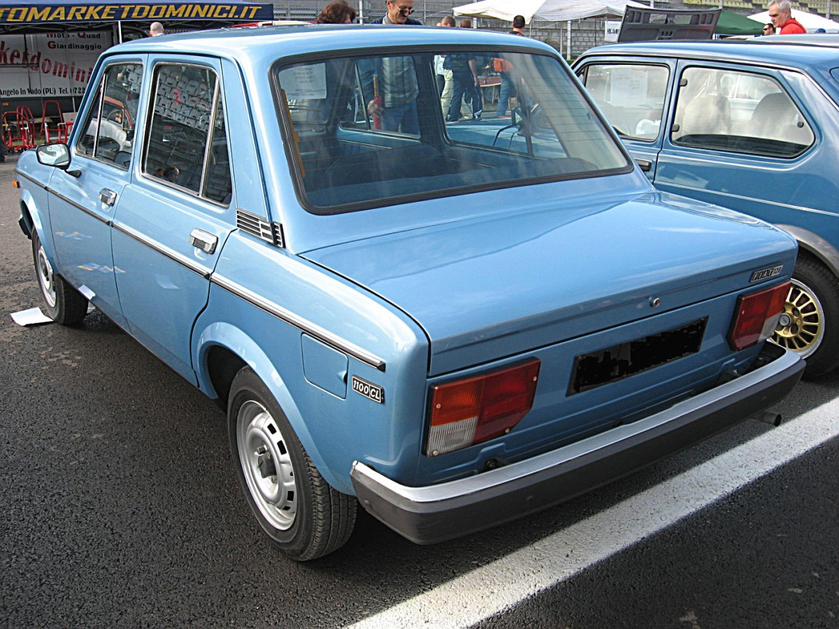 Curbside Classic 1969 1985 Fiat 128 The Fiat We Must Remember Fiat Coupe Fiat  128 Sedan Wiring