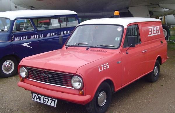 Bedford airline vans
