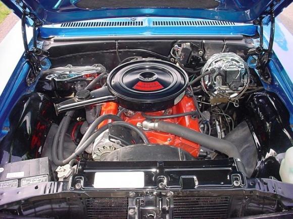 Nova 1972 engine