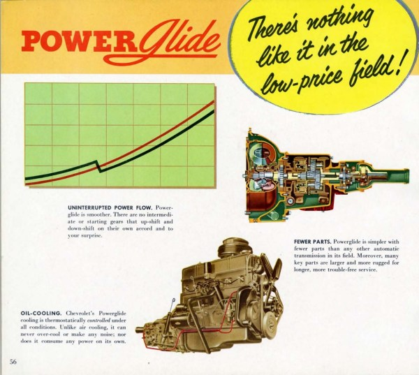 Powerglide 1952 Chevrolet Engineering Features-56