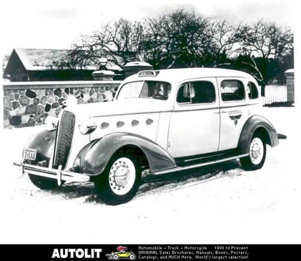 1937 General taxi