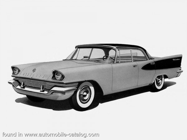 1957 Chrysler Windsor 4 Door Hardtop. Ours was all black.