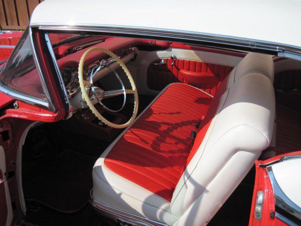 1957 Oldsmobile dogleg A pillar.