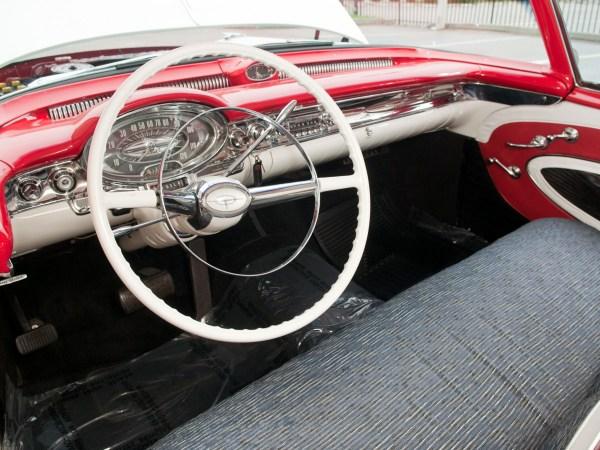 1957 Oldsmobile Interior - Same colors as COAL 2.