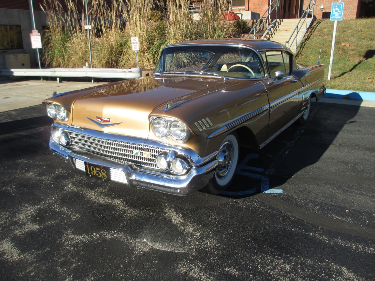 CC Drive Report: 1958 Chevrolet Impala – Pink Floyd Was Dressed In ...