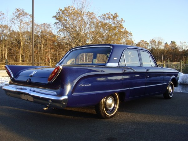 A 1961 Comet Four Door Sedan - Not Its Best Side