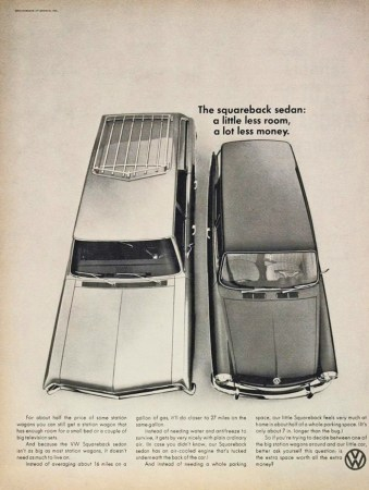1967 VW Squareback Ad