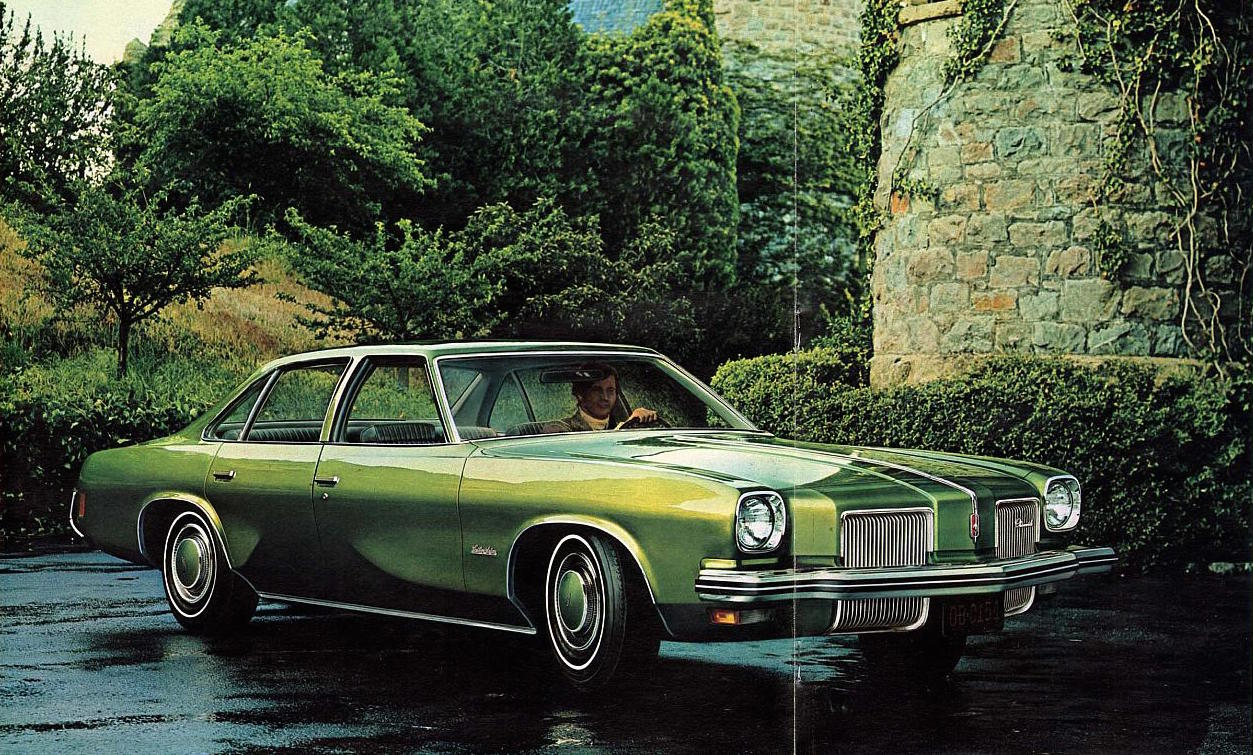 vintage review 1973 oldsmobile cutlass salon versus 1973