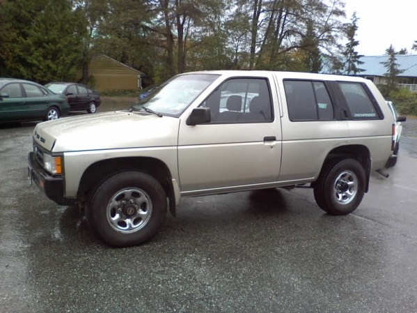coal 1994 nissan pathfinder a change in direction curbside classic coal 1994 nissan pathfinder a change