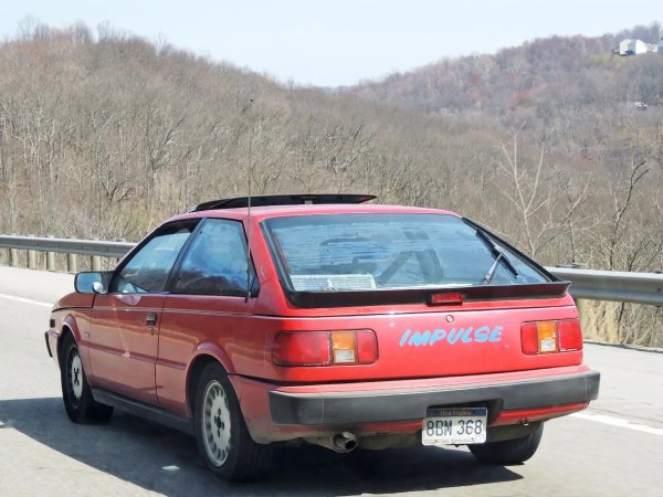 3 1988 Isuzu Impulse