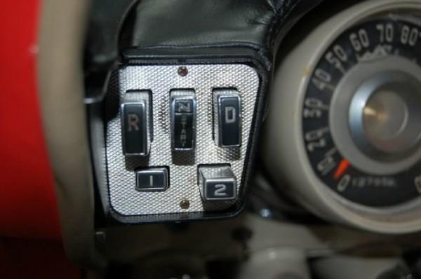 """1957 Chrysler Torqueflight Buttons (note """"start"""" under the N)"""