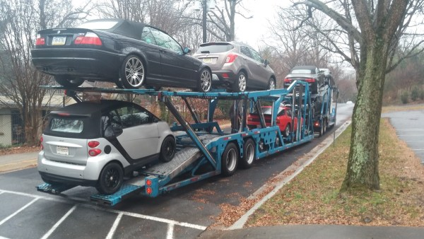 9 - 2008 smart passion cabrio being shipped