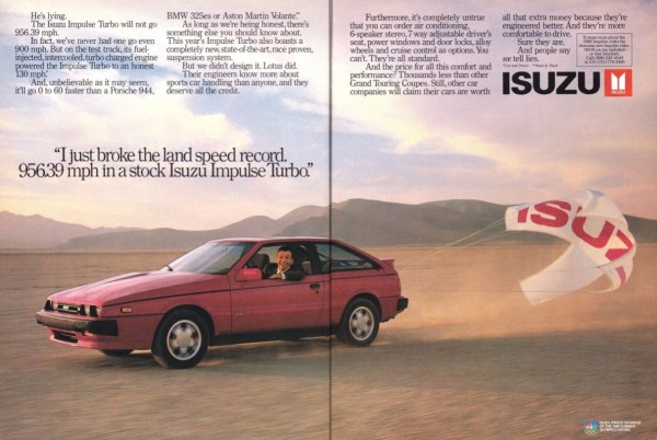 Ad 1988 Isuzu Impulse