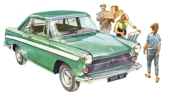 Austin A60 Cambridge coupe