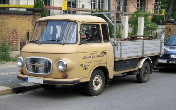 Barkas truck