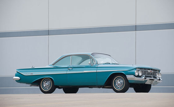 Chevrolet 1961 impala coupe