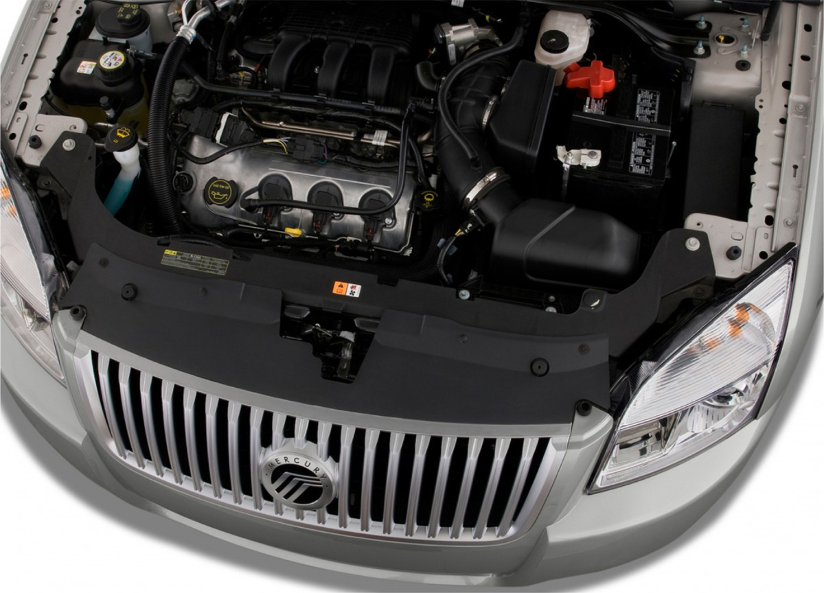 Addressing the montego s biggest shortcoming the revamped vehicle now featured the larger 3 5l cyclone v6 first introduced on the 2007 model year ford