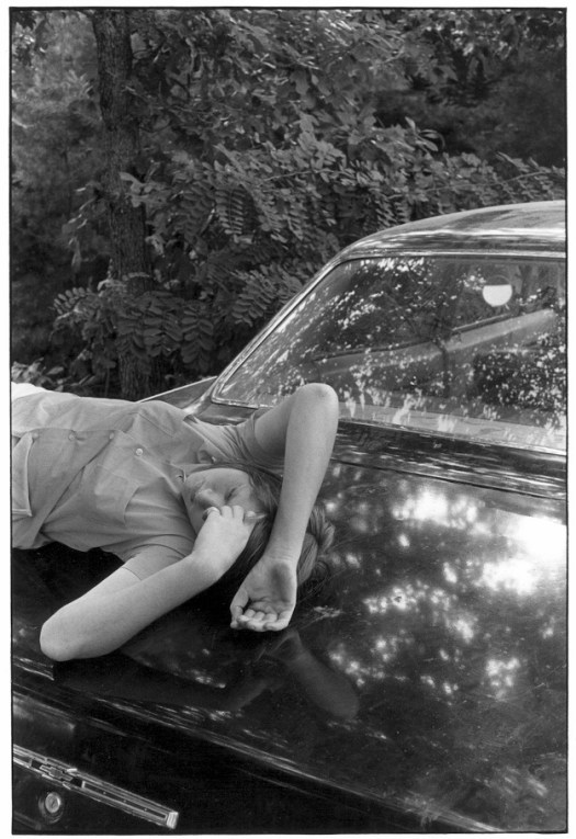 Gedney girl on trunk