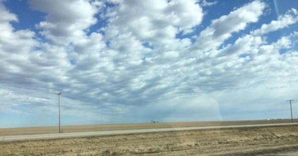 Flat Prairie Land