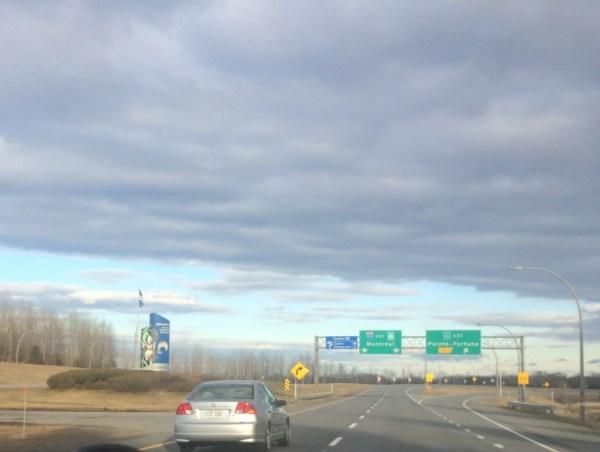 Quebec-Ontario Border