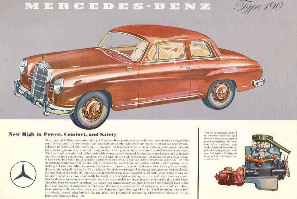 Mercedes Benz 190 Coupe