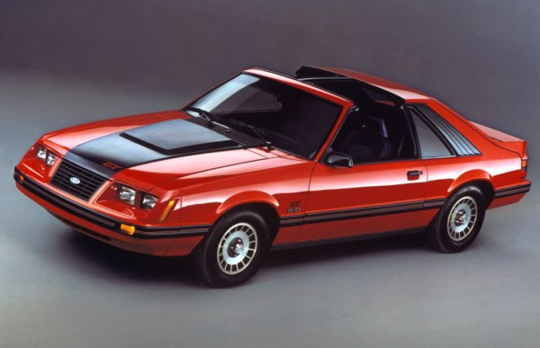 1983 Ford Mustang GT.