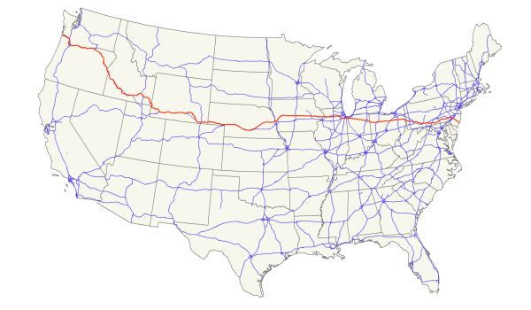 Route 30 US_30_map