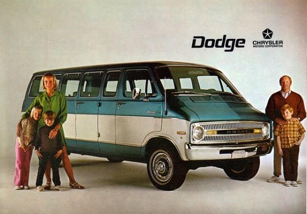 dodge van 1971 -1