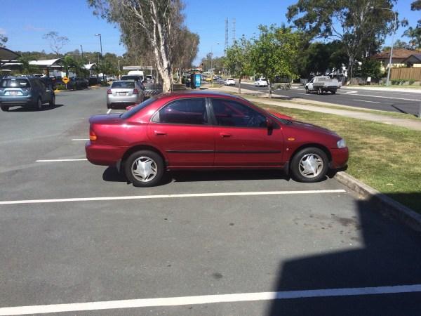 ford laser ghia sedan