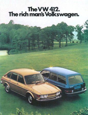 1974 VW 412 c