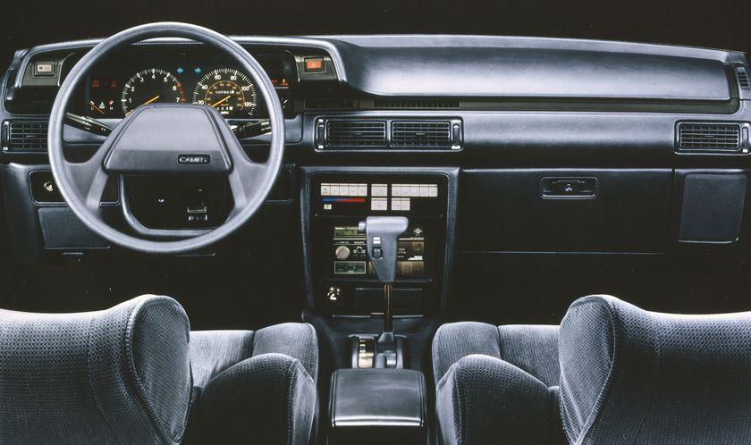 COAL: 1987 Toyota Corolla – I'd Rather Walk  |1987 Toyota Camry Interior