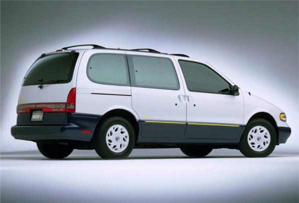 1996 Mercury Villager rear