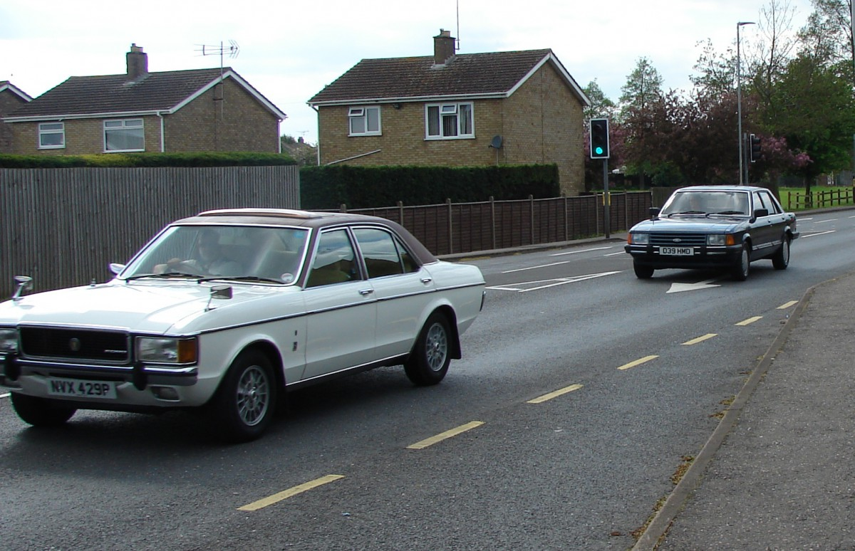 Ford Granada - the story of the legendary model 70s 74