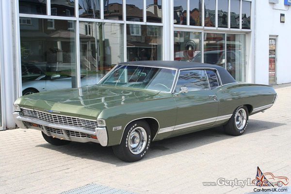 Chevrolet 1968 caprice coupe
