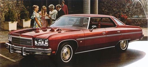 Chevrolet 1975 caprice 4 door hdtop