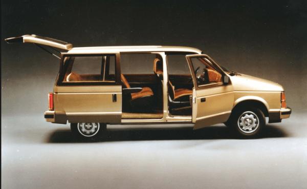 Dodge caravan 1984 open