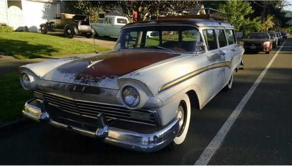 Ford 1957 wagon fq