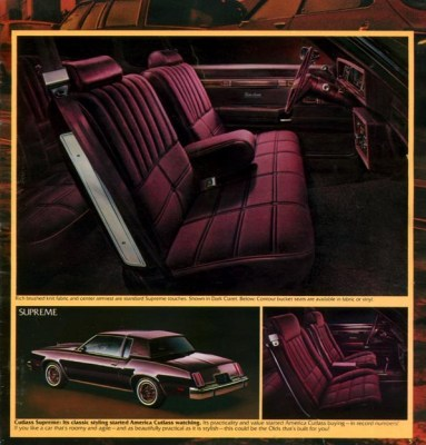 1980 Cutlass Brochure ad