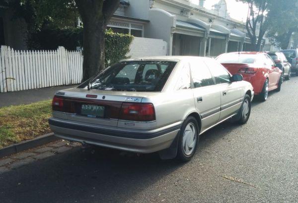 626 Turbo rear