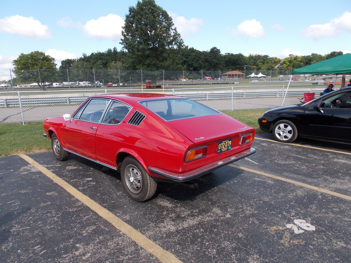 Trackside Classic: 1973 Audi 100 Coupe S — Spot The Influences?