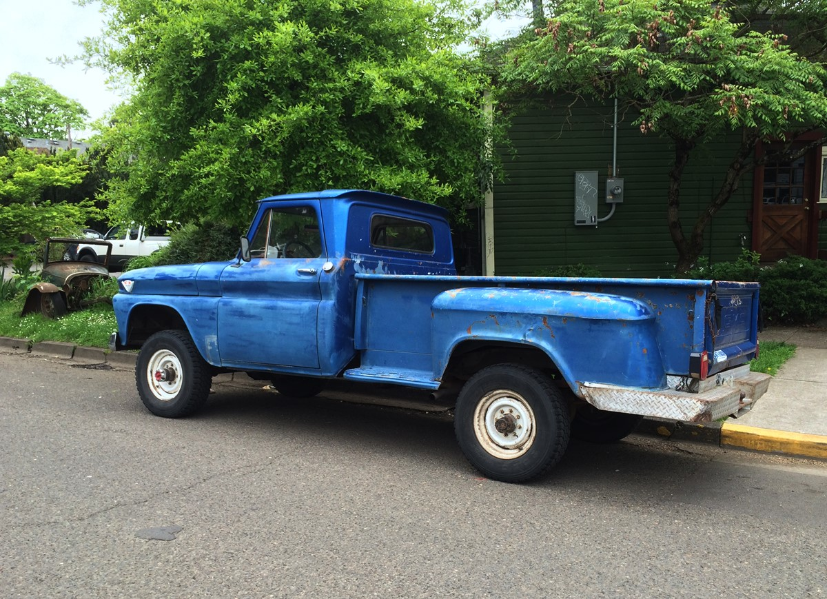 3 4 Ton Truck >> Cc Outtake 1964 Gmc 3 4 Ton 4 4 V6 Pickup All The Right Numbers