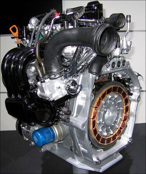 Honda Insight display engine
