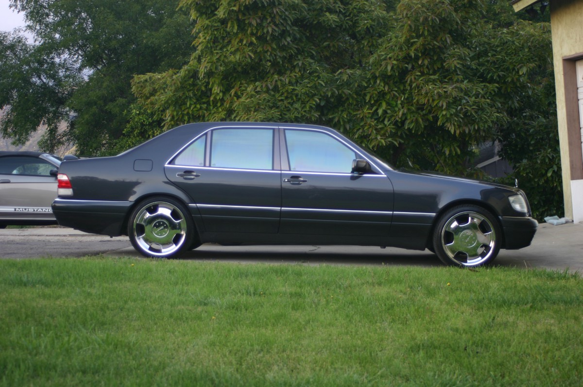 Coal 1995 mercedes benz s420 gambling on a high mileage for Mercedes benz s 420