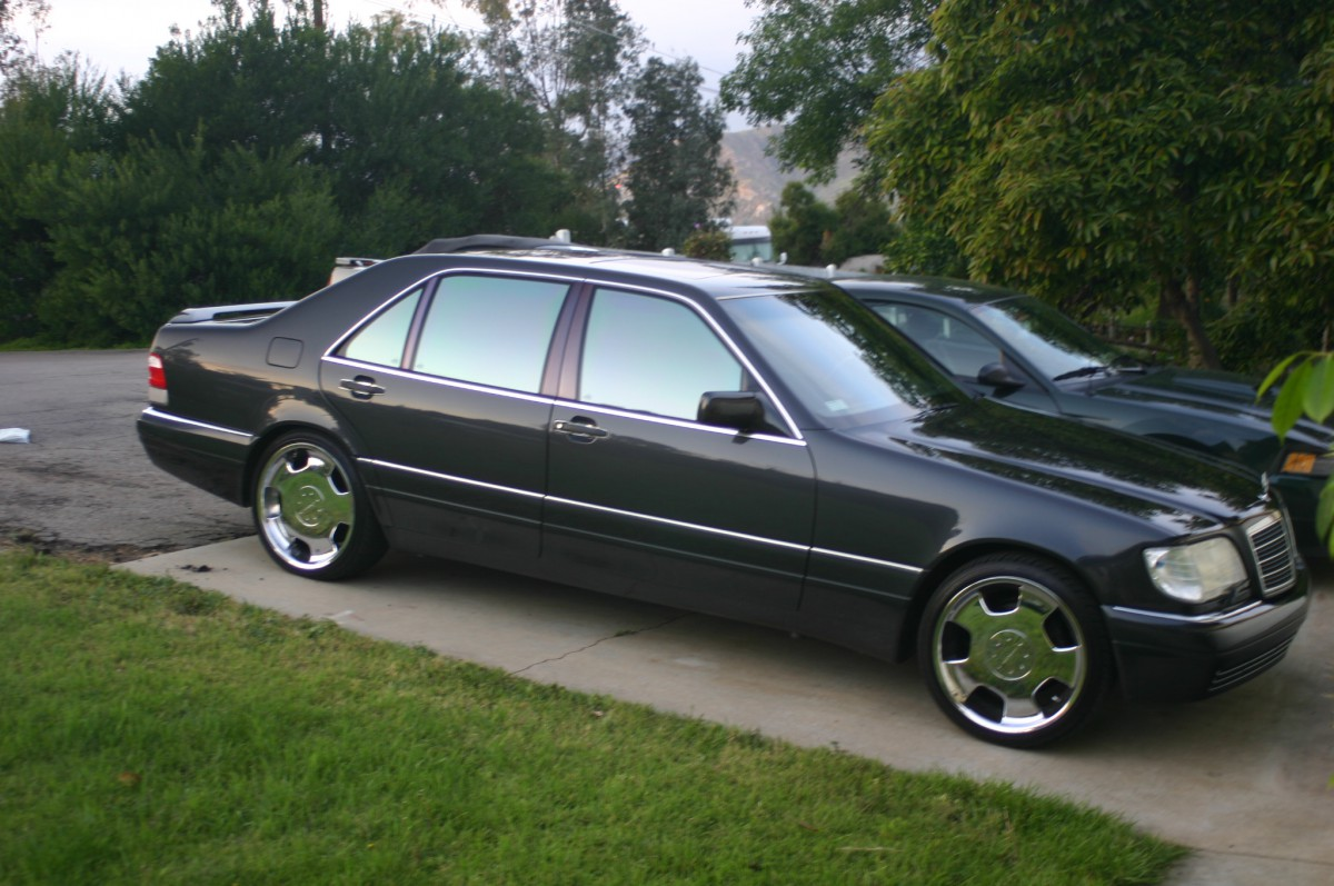 Coal 1995 mercedes benz s420 gambling on a high mileage for Mercedes benz 1995