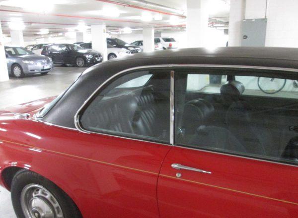 Jaguar XJC window